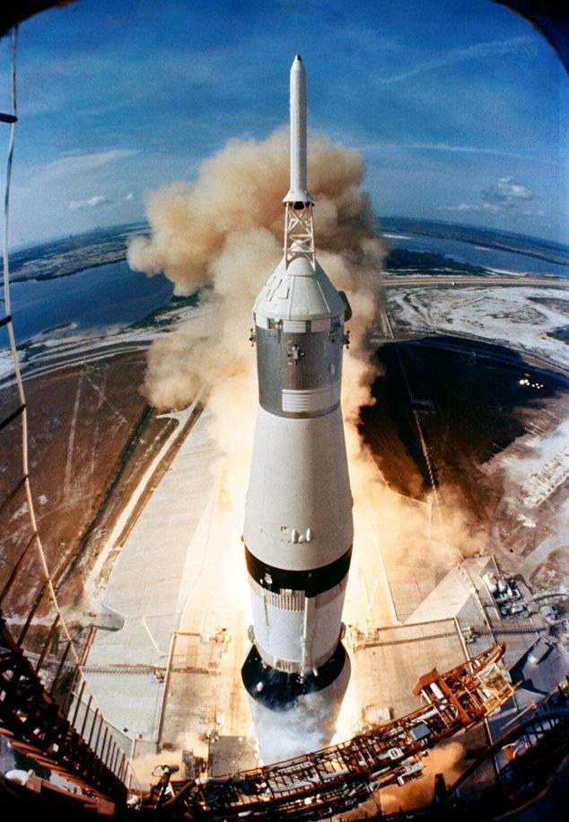 NASA Apollo 11 launch
