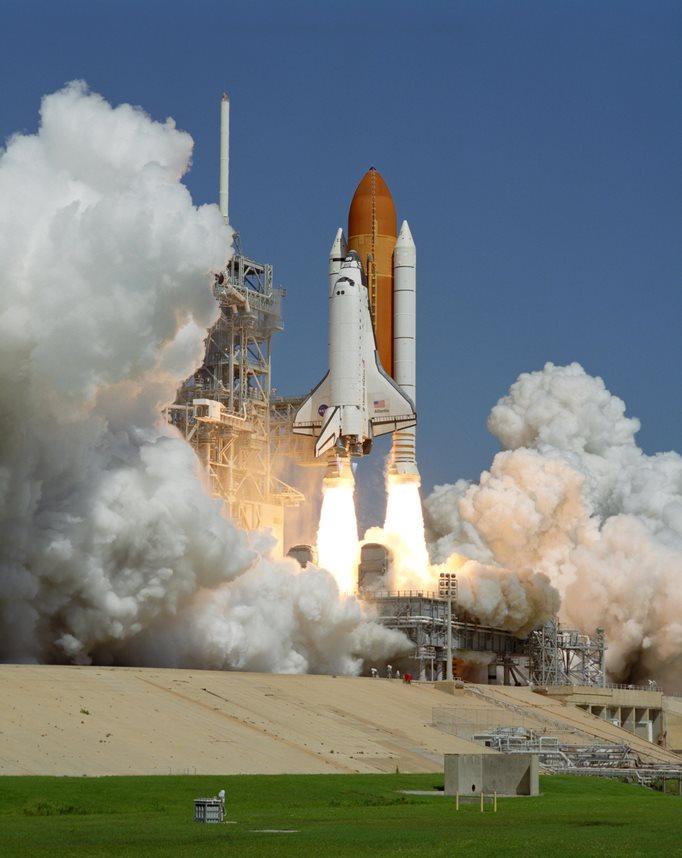 NASA Shuttle launch