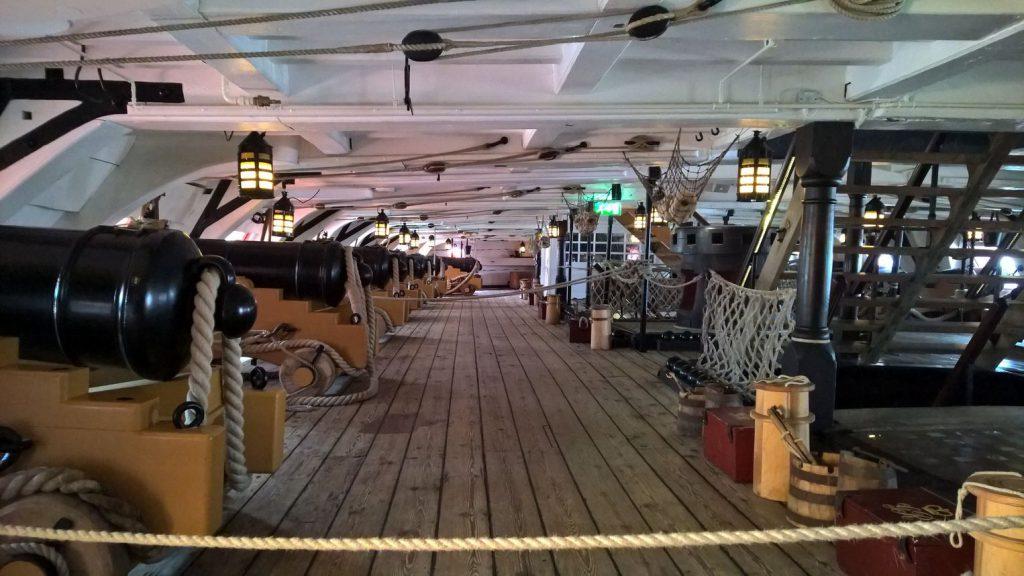 Gundeck interior