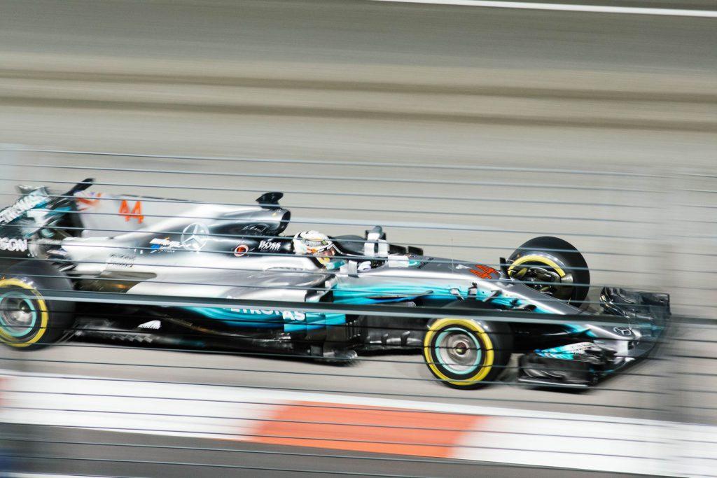 F1 Car Lewis Hamilton 2019