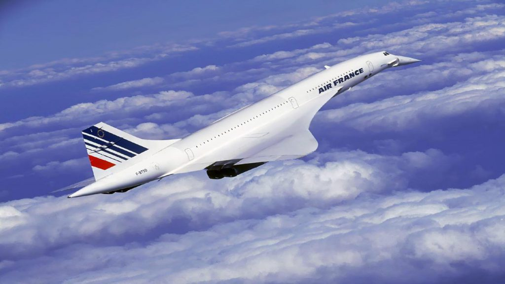 Concorde - the world's first and fastest commercial passenger airliner