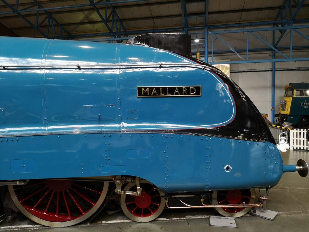 Mallard, the world's fastest steam locomotive 1938