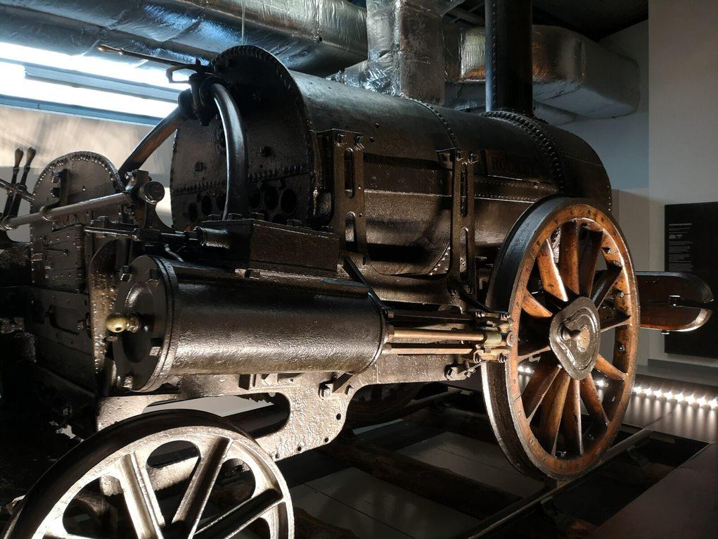 Rocket - the world's first passenger train locomotive
