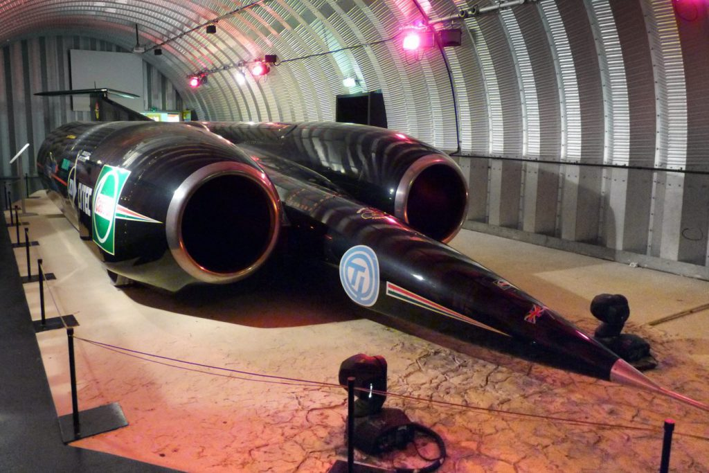 Thrust SSC - land speed record holder and supersonic vehicle